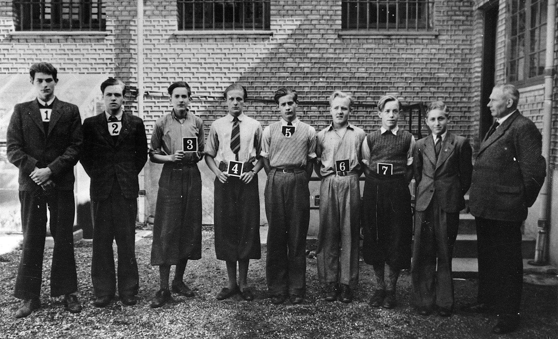 Churchill-Klubben i Aalborg Arrest 1942