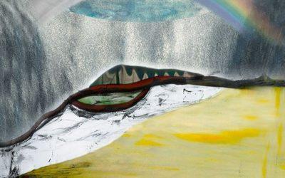 Maja Lisa Engelhardts Skabelsesbilleder, Den syvende dag og Skabelsen