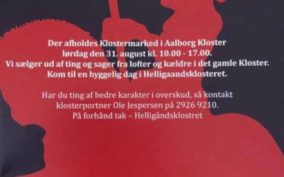 Klostermarked 31. august 2019