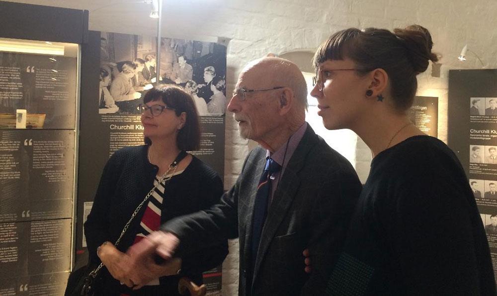 Fra venstre Sannie Foxberg, Helge Milo og Charlotte Milo.