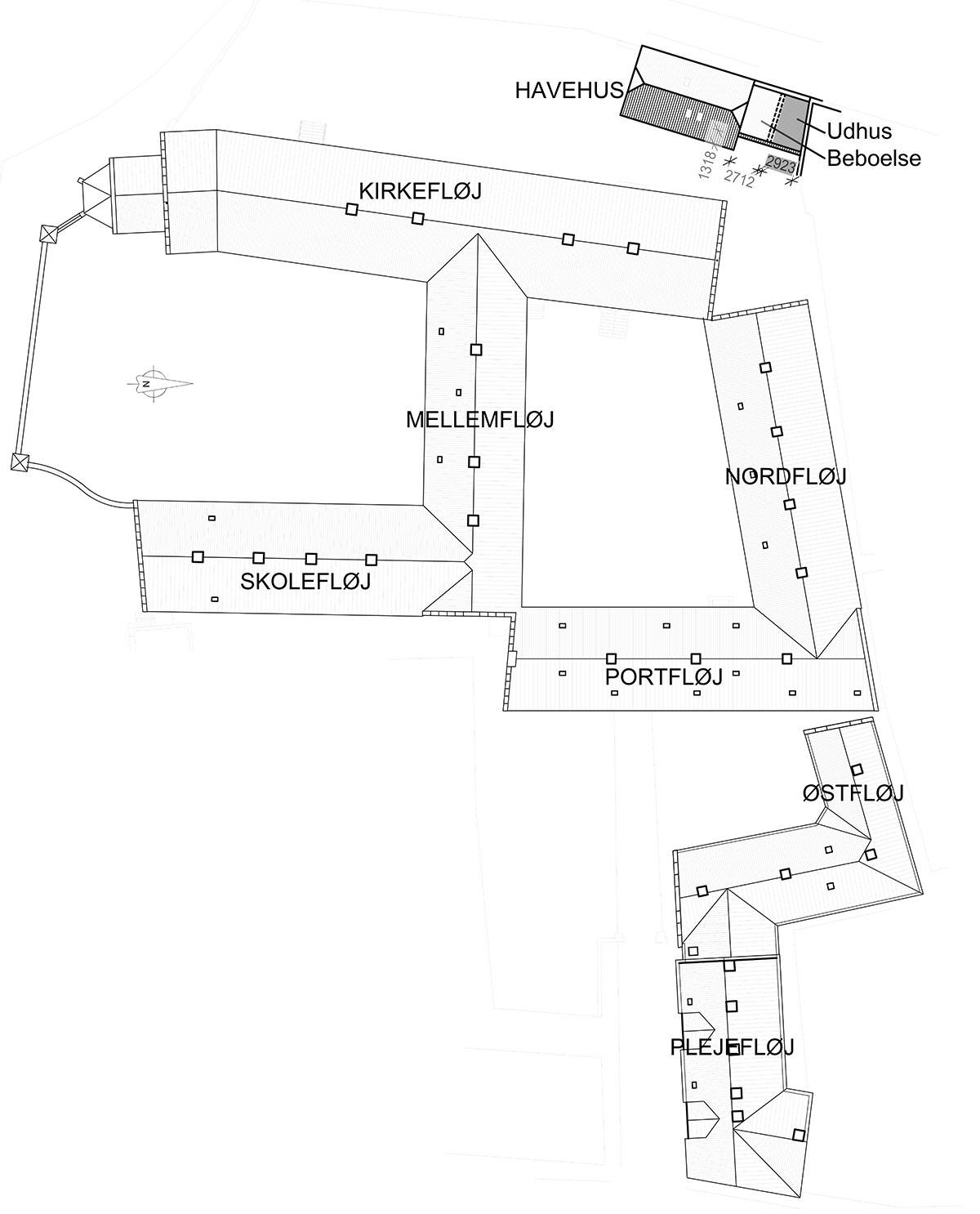 Klosterområdet