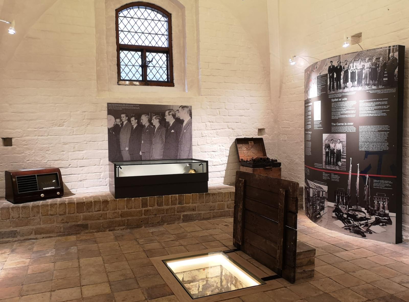 Et lille kig ind i Churchill-udstillingen